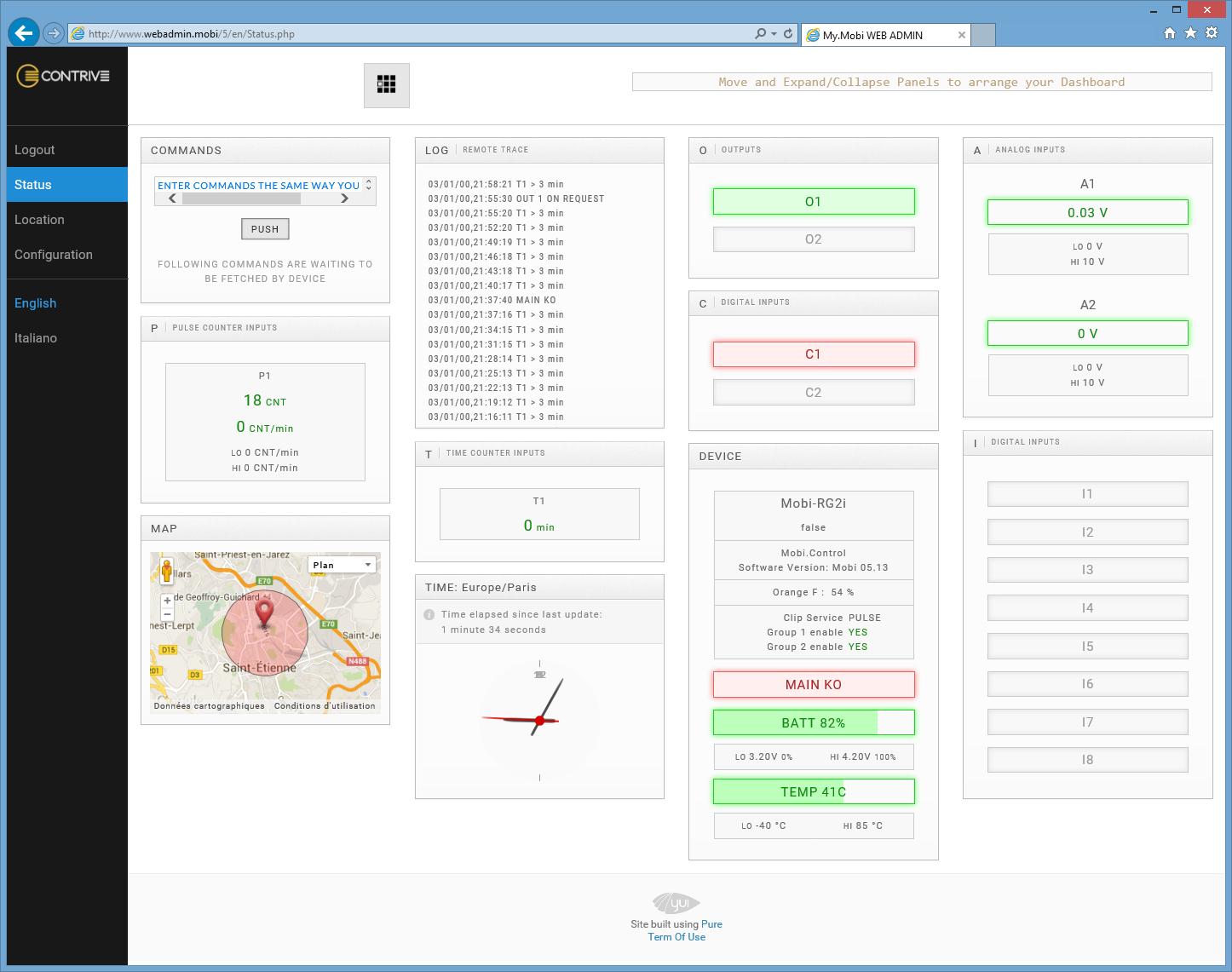 Logiciel de configuration mobi control et acc s par webapi for Logiciel configuration cuisine